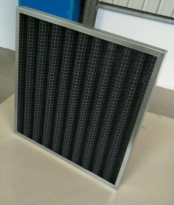 德州精久净化595*595*46板式活性炭过滤器