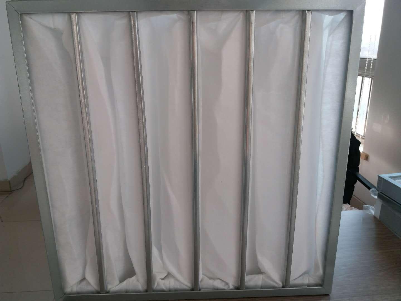德州精久净化F5袋式中效空气过滤器