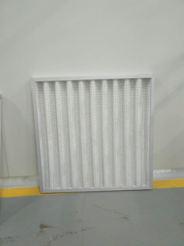 德州精久净化G4折叠板式初效空气过滤器