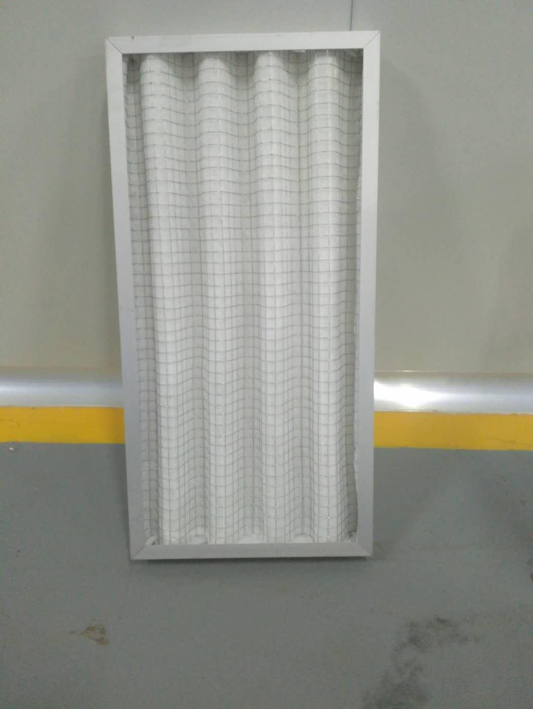 德州精久净化折叠板式初效过滤器