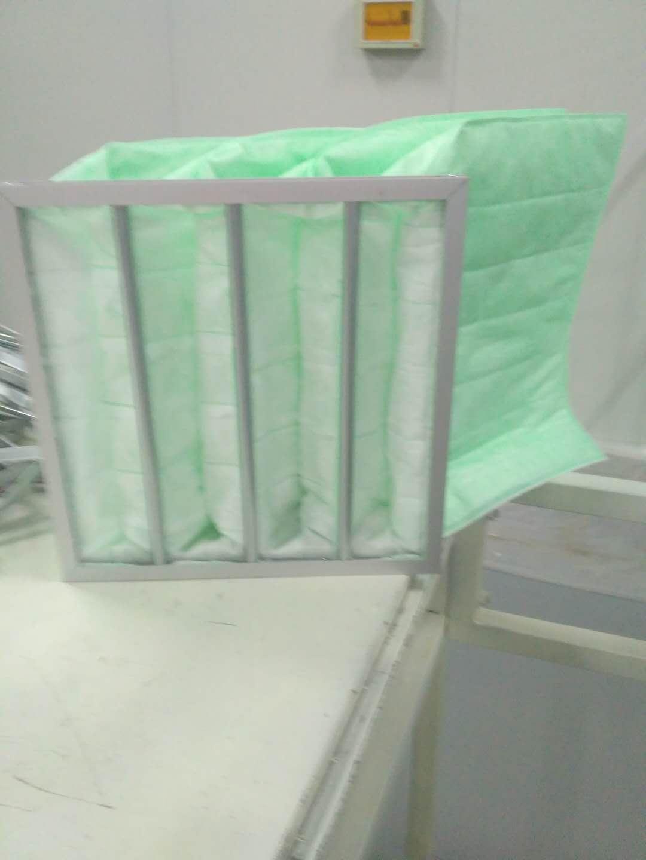 德州精久净化F6袋式中效空气过滤器