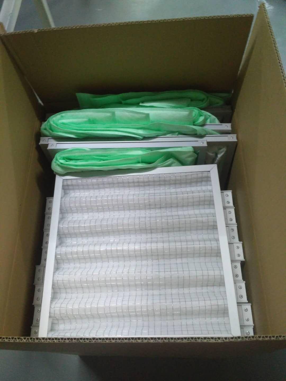 德州精久净化空气过滤器发货打包