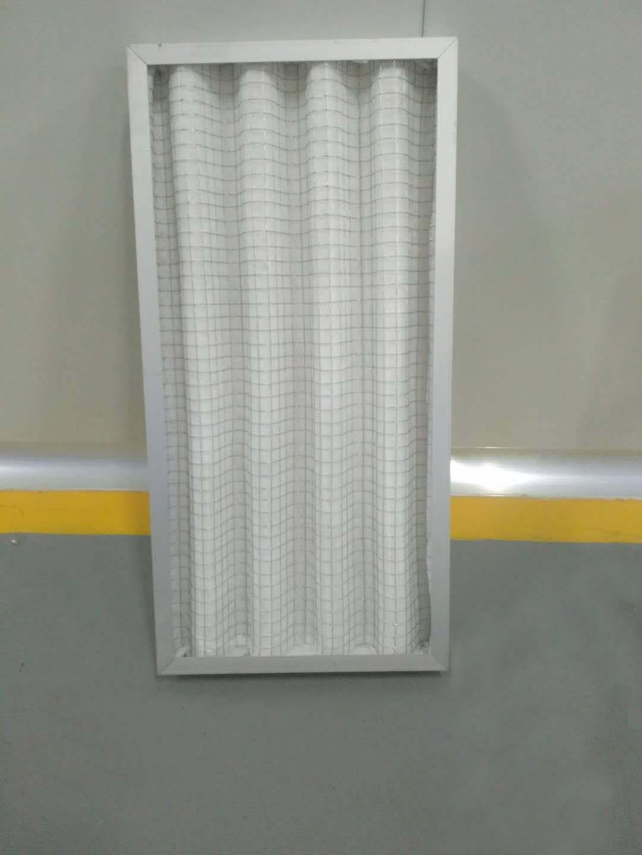 德州精久净化折叠板式初效空气过滤器