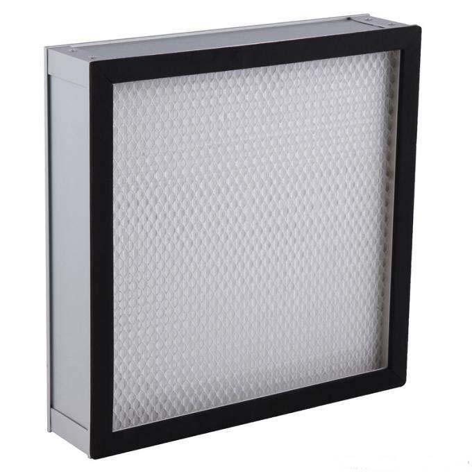 德州精久净化无隔板高效空气过滤器
