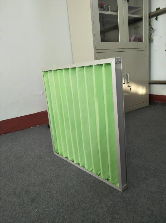 德州精久净化折叠式可清洗初效空气过滤器