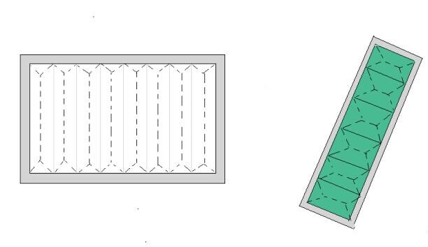 德州精久净化折叠式空气过滤器结构图