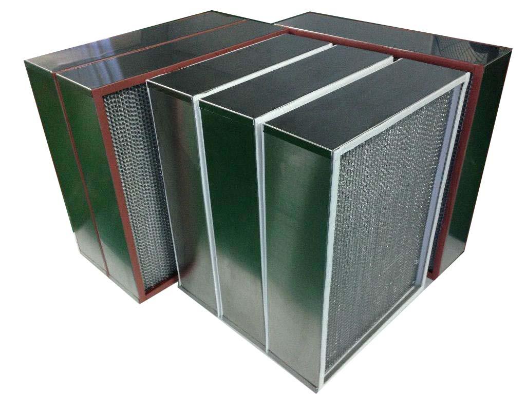 德州精久净化耐高温高效空气过滤器