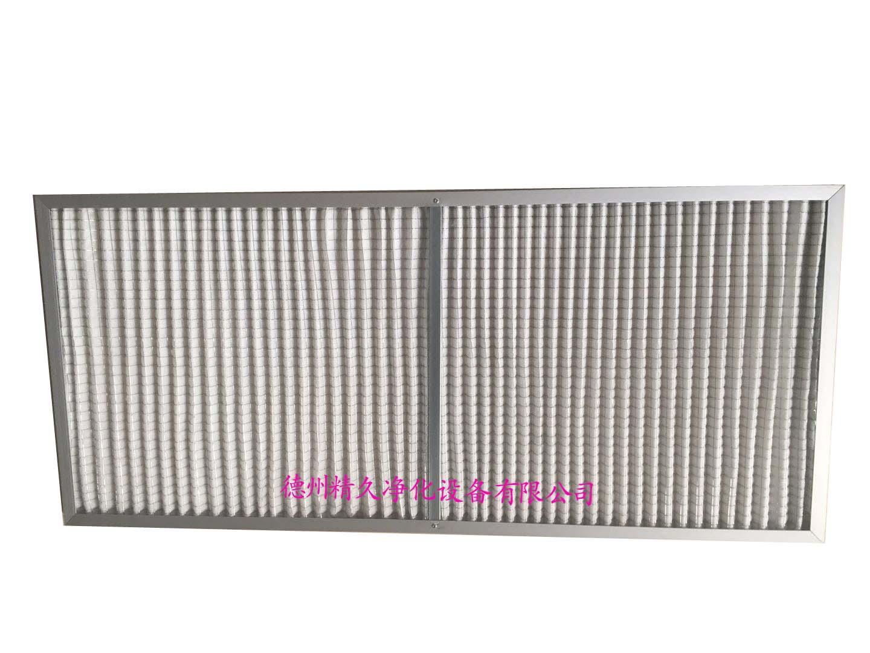 德州精久净化V型褶初效空气过滤器