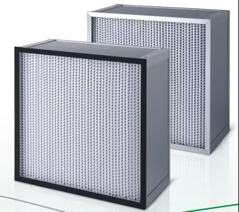 德州精久净化有隔板高效空气过滤器