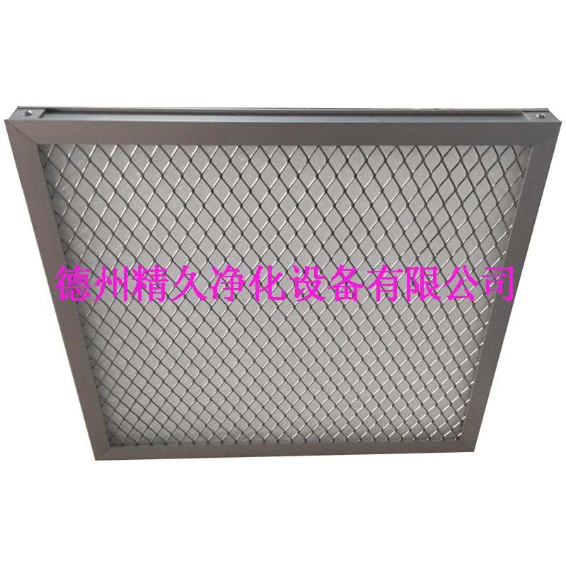德州精久净化耐高温初效空气过滤器产品