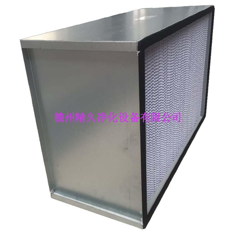 德州精久净化纸隔板高效空气过滤器