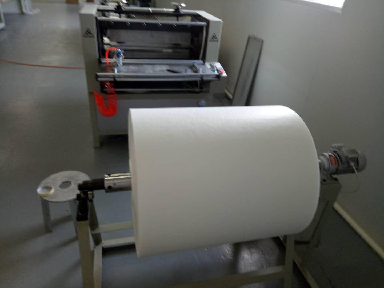 德州精久净化设备有限公司无隔板高效过滤器生产设备