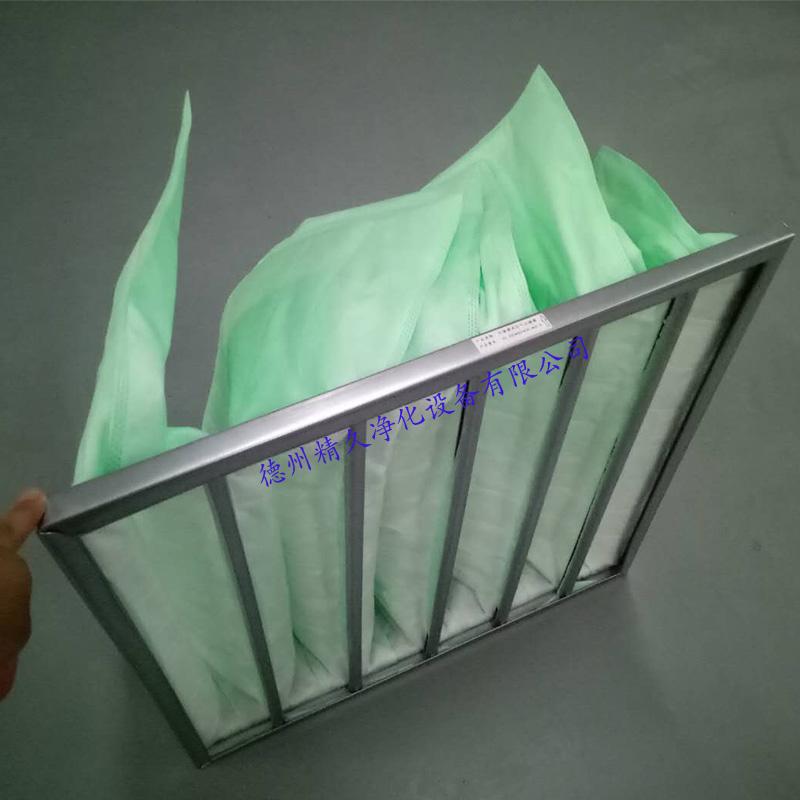 德州精久净化设备有限公司f6袋式中效空气过滤器