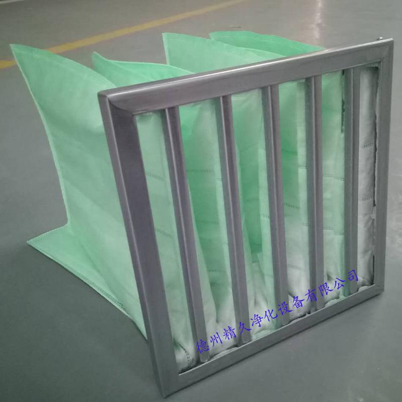 德州精久净化中效袋式空气过滤器