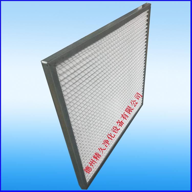 德州精久净化设备初效折叠式空气过滤器