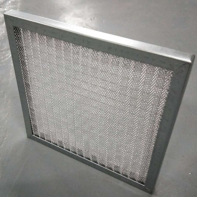 德州精久净化金属网初效过滤器