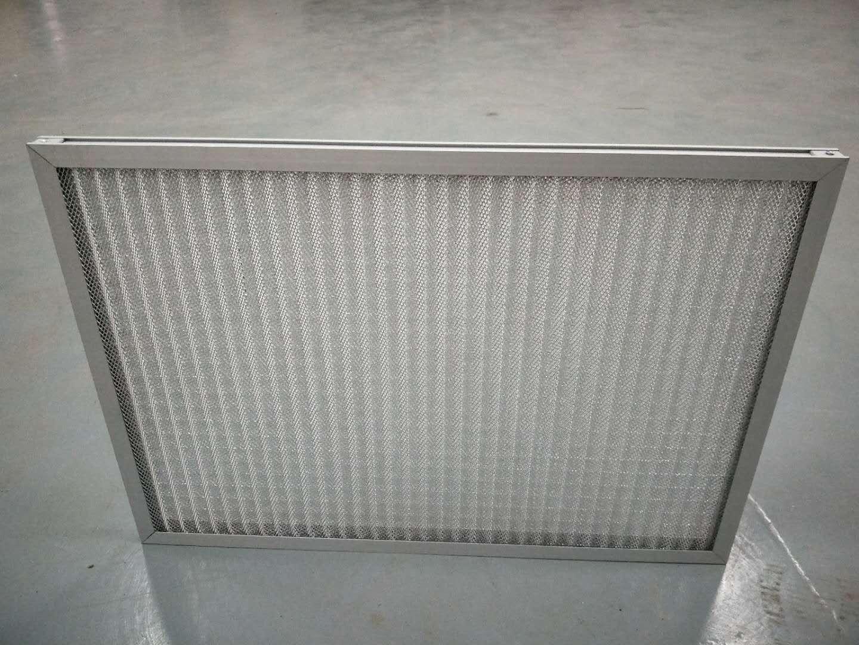 德州精久净化耐高温折叠式过滤器