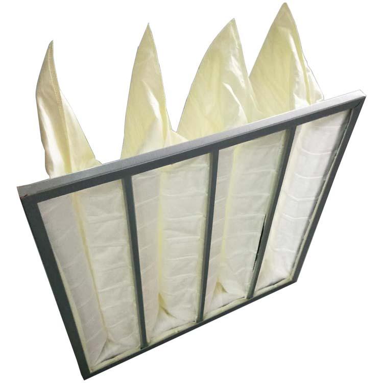 德州精久净化f8袋式中效空气过滤器