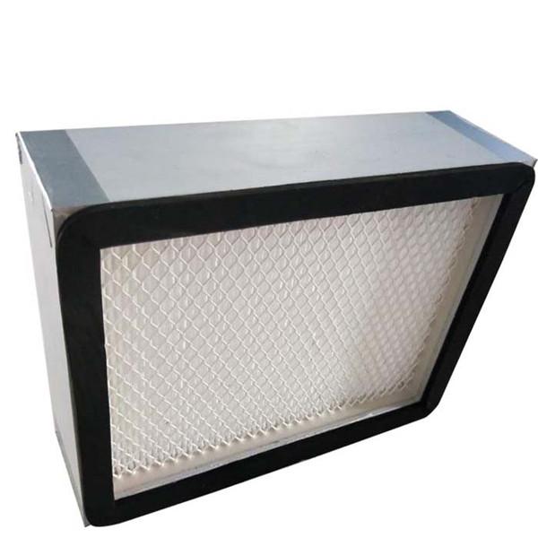 无隔板高效空气过滤器和有隔板高效空气过滤器的选择